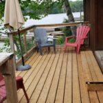 Birches Deck