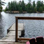 Birches Deck View